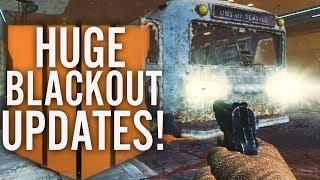 HUGE BLACKOUT CHANGES REVEALED: TRANZIT BUS, LEVEL CAP, PLAYGROUND MODE, MAP UPDATES! (Black Ops 4)