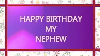 Birthday Wishes For Nephew | Happy Birthday Nephew