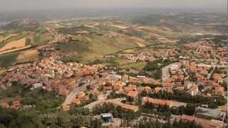 preview picture of video 'View from the Top of San Marino'