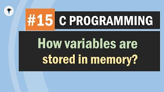 How variables are stored in memory space? | Decimal & Binary conversions