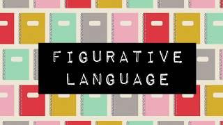 Mrs. Kitchen's Reading Comprehension Mini Lessons: Figurative Language