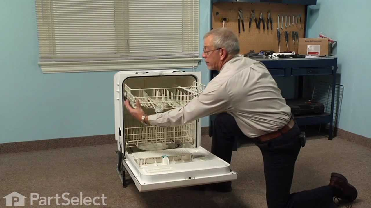 Replacing your Kenmore Dishwasher Middle Wash Arm Tube Holder