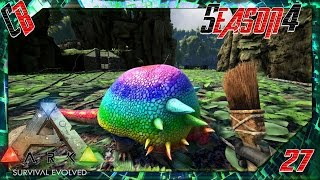 ark pooping evolved custom dino painting s4ep27
