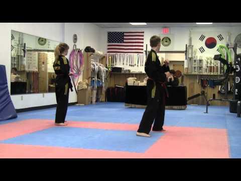 Tae Kwon Do Black Belt Test - YouTube