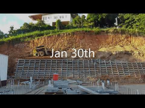 Criblock Retaining Wall Construction 2019