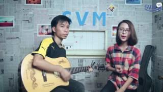Phố xa cover - Ngọc Yến ft guitarist Thạo Acoustic - SVMusic 6