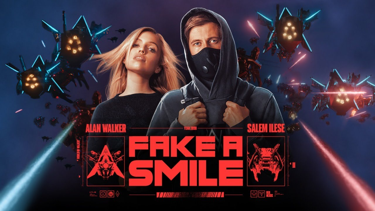 Fake a smile lyrics alan walker lyrics