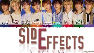 STRAY KIDS   'SIDE EFFECTS' (부작용) Lyrics [Color Coded_Han_Rom_Eng]