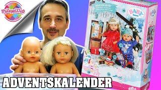 BABY BORN ADVENTSKALENDER und Baby Annabell unboxing Zapf | Mileys Welt