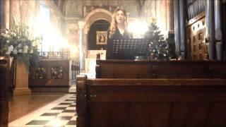 """Charlotte sings """"Panis Angelicus"""" - César Franck"""