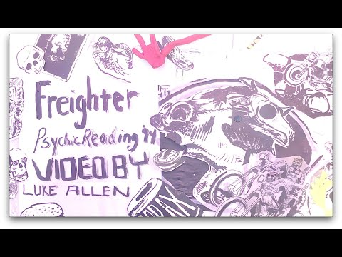 Freighter - Psychic Reading '94 (Official Lyric Video) online metal music video by FREIGHTER