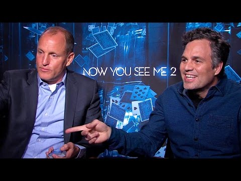 Woody Harrelson & Mark Ruffalo Talk 'Now You See Me 2'