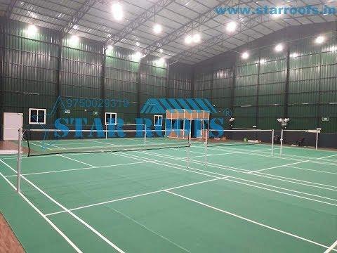 Indoor Badminton Court Construction Service