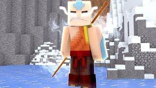 Minecraft: AVATAR A LENDA DE AANG - EU SOU O AVATAR!!