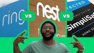 Ring vs Nest vs SimpliSafe Comparison