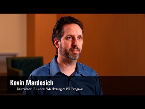 Instructor Spotlight: Kevin Mardesich, Business/Marketing Program Instructor