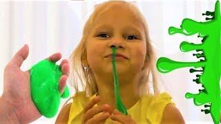 Слайм челлендж! Slime Challenge!