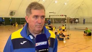 Борис Чижов -  тренер женской сборной Украины по гандболу. О подготовке к матчам