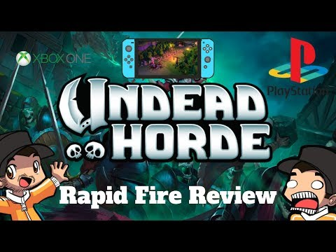 Undead Horde Review | Is This Game Worth Your time? | Ps4 | Xbox One | Gameplay