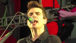 Anti-Flag Live - Turncoat & Die for Your Government & Should I Stay or Should I Go @ Sziget 2012