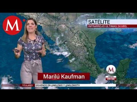 El clima para hoy 27 de julio de 2018 con Marilú Kaufman
