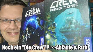 Die Crew - Mission Tiefsee (Kosmos) - noch ein weiteres kooperatives Stichspiel / Kartenspiel