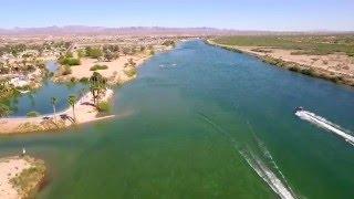 Colorado River, Bullhead City Big Bend Area, Dji Phantom 3