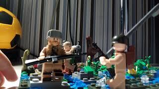 "Лего ВОВ самоделка ""Диверсанты"""