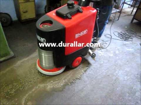 HRA-550 E Elektrikli Yer Temizleme Makinesi
