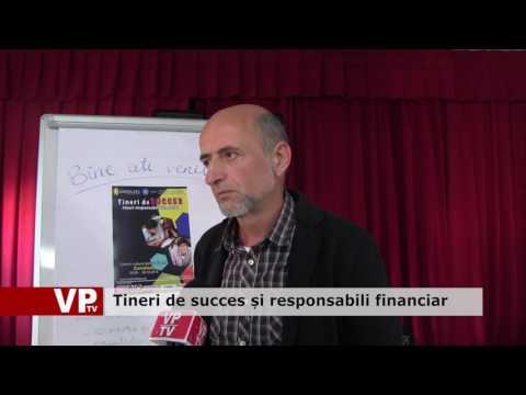 Tineri de succes și responsabili financiar