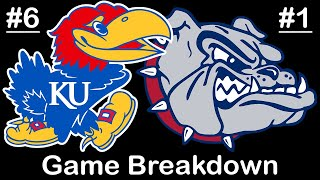 How Gonzaga looked like the #1 team in the country vs Kansas