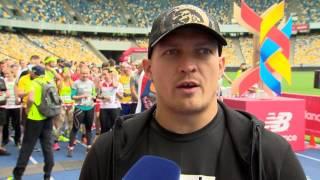 Александр Усик, чемпион мира по версии WBO на Kyiv Euro Marathon. Киев, 27/05/2017