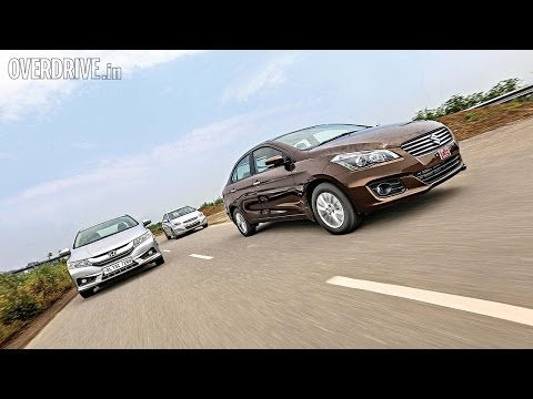 Maruti Suzuki Ciaz vs Honda City vs Hyundai Verna - Comparative Review - Honda City Videos