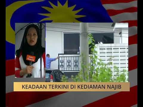 Perkembangan terkini keadaan di kediaman Datuk Seri Najib