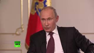 Как менялось мнение Путина о Навальном 2013-2017