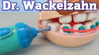 Play-Doh Dr. Wackelzahn auspacken seratus1 unboxing Zahnarzt Hasbro