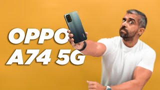 Oppo A74 5G Unboxing & First Impressions: Light in weight but packed with power!