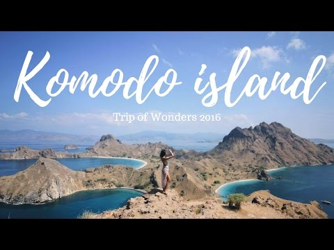 Indonesia's Paradise!!! Komodo Dragon Island (YOU SHOULD WATCH THIS!)