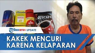 Lapar Tak Ada Uang untuk Makan, Kakek 61 Tahun Nekat Mencuri di Sebuah Supermarket di Surabaya
