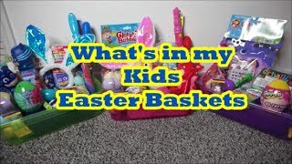 Easter Baskets - Ages 2-5