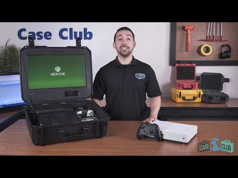 Xbox One X/S Portable Gaming Station with Built-in Monitor - Featured Youtube Video