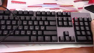 Распаковка механических клавиатур Xiaomi Mi Gameboard и Tronsmart TK09R