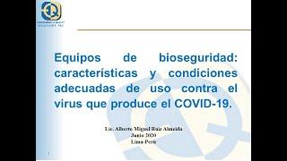 [Curso 2] EPPs de Bioseguridad COVID 19 – Julio 2020