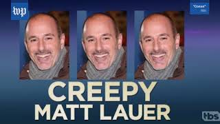 These awkward Matt Lauer moments are resurfacing