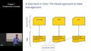 Introduction to Database Management Systems 1: Fundamental Concepts