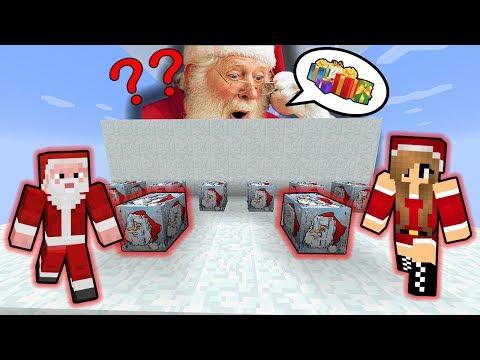 SANTA ZAPOMNĚL NA VÁNOCE ??!! - Minecraft Lucky Block Race w/ Vendali