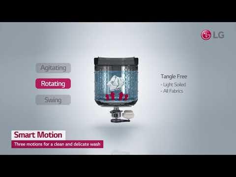 LG Washing Machine Smart Inverter - Smart Motion