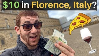 What Can $10 Get You in FLORENCE, ITALY? 🇮🇹