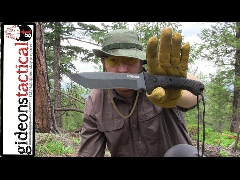 Schrade SCHF9 Survival Knife: $40 Well Spent!