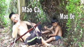 Mao Ca Và Mao Đệ Trước Khi Xuống Tóc Tam Mao - Video Đầu Tay Không Chỉnh Sửa Cười Há Mồm